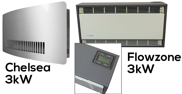 The Chelsea And Flowzone Fan Heaters Are Latest Addition To Our Electronic 7 Day Timer Range