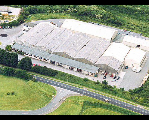 Image of our facility in Milford Haven, producing high quality electric heating products.