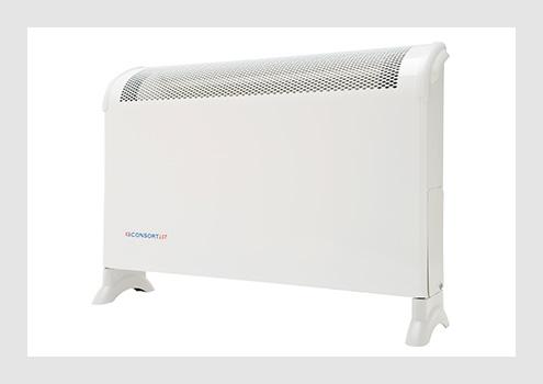 Free standing lst fan heater