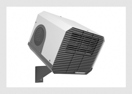 Commercial fan heaters