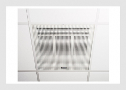 Recessed ceiling heaters