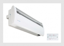 Single door air curtain